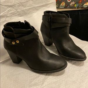 BRAND NEW  Never worn. Black ankle boots